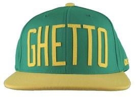 DGK Starter Straight Dirty Ghetto Kids Champs Green/Yellow Snapback Baseball Hat