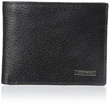 Steve Madden Men's Leather Credit Card ID Passcase Wallet Black N80010/08