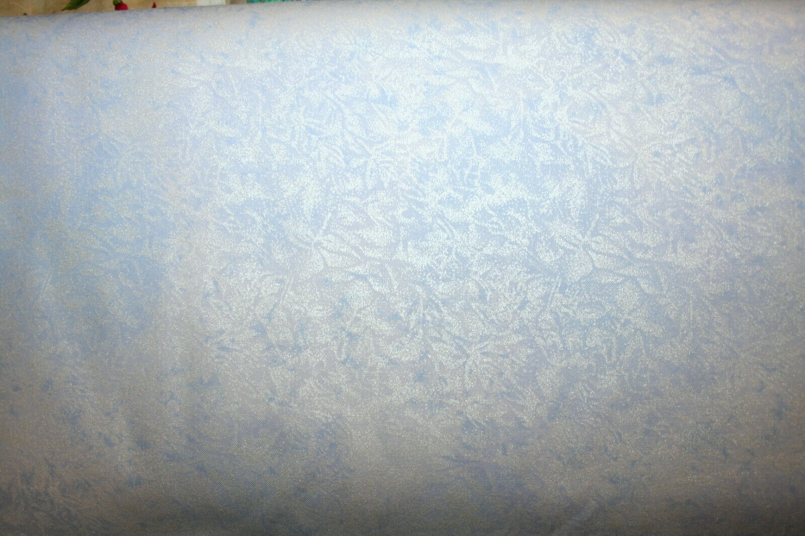 Primary image for FAIRY FROST IN SILVER BLUE FROM MICHAEL MILLER - 100% COTTON FABRIC