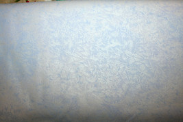 FAIRY FROST IN SILVER BLUE FROM MICHAEL MILLER - 100% COTTON FABRIC  - $7.91