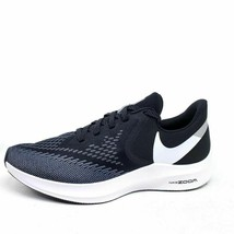 Nike Womens Size 11 Air Zoom Winflo 6 Running Shoes Black AQ8228-003 - $39.45