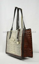 NWT Brahmin Medium Camille Leather Tote/Shoulder Bag in Hemlock Westwood $345 - $299.00