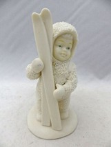 Department 56 Snowbabies - Let's go Skiing - #68152 - EUC - $15.84