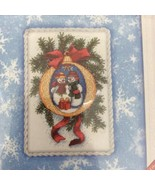 """Dimensions Gifts In The Snow Cross Stitch Kit Kathryn White 8718 8"""" X 10"""" - $14.21"""