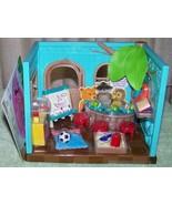 Li'l Woodzeez Li'l Luvs & Hugs Nursery Mini Playset New - $23.88