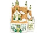 DOLLHOUSE Tiny Manor House Cottage a4195 Figurine Falcon Miniature