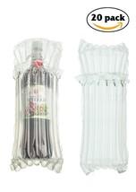 Bottle Bubble Cushioning Wrap 20 PACK Wine Protector Sleeves Cushioning ... - $25.06