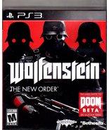 PlayStation 3 - Wolfenstein (The New Order) - $15.50