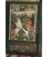 Shaquille O'neal Card Plaque - $35.00