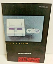Super Nintendo Entertainment System Instruction Manual Only - $9.49