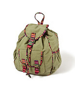 Backpack with Yarn Dye Trim Shoulder Bag Claires Womens/Girls NWT - $10.19