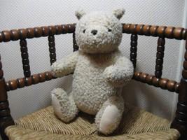 Gund Disney Classic Pooh Teddy Bear 15 Inch Fully Jointed Curly Plush - $140.60