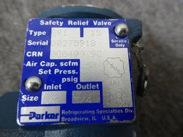 Parker SR1 Safety Relief Valve SR1  image 3
