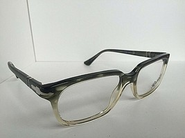 New Persol 3131-V 1038 Light Clear Olive 54mm Eyeglasses Frame Hand Made Italy - $129.99