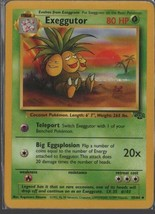 Exeggutor - Pokemon Collectible Card Game - Grass - 35/64 - 1999 -  Wiza... - $0.97