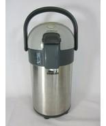 Nippon Sanso Nissan Stainless Air Pot Pump Swivel Base Dispenser Hot Col... - $80.18