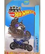 2013 Hot Wheels #9 HW City Street Power DUCATI DIAVEL Blue/Black w/MC La... - $6.93