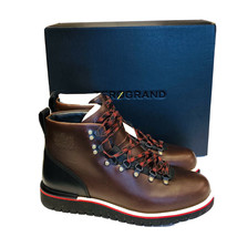 Cole Haan Mens Boots Zerogrand Hiker Waterproof Size 10 Dark Coffee Leat... - $173.25