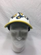 West Virginia Hat Cap Mesh Trucker Adjustable Navy Yellow - $9.64
