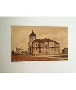 EARLY 1900'S POSTCARD - HIGH SCHOOL - SANTA CRUZ CALIFORNIA F39 - $11.63