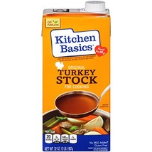 Kitchen Basics Original Turkey Stock, 32 oz Pack of 12 - $40.60