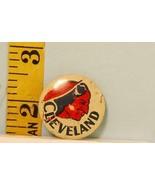 Vintage American Nut Cleveland Indians Baseball Pinback Button - $10.89