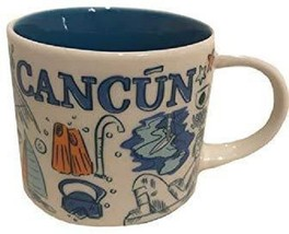 Starbucks 2018 Cancun, Mexico Been There Collection Coffee Mug NEW IN BOX - $56.90