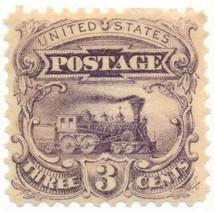 114-E6d, 3c Locomotive Plate Essay in Dull Violet on Stamp Paper, OG, LH... - $79.00