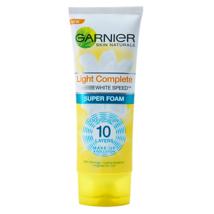 Garnier Light Complete White Speed Super Foam Cleanser 100ml - $11.99