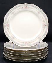 Noritake Rothschild * 7 Dinner Plates * Japan, Small Flowers, Exc! - $24.99
