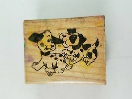 Stampendous Fun Stamps Dalmatians Rubber Stamp 1989 - $6.78