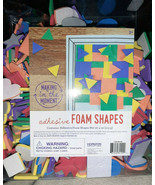 Multicolor Adhesive Foam Shapes 4oz Making in the Moment Triangle Heart ... - $8.86