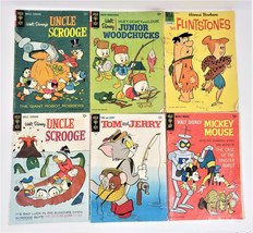 1966-68 Gold Key Comics Walt Disney`s Uncle Scrooge / Tom and Jerry ++ L... - $15.18