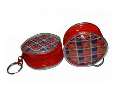 American Flag British Flag Holographic Zippered Coin Purse Keychain 12 CT - $53.67