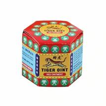 100% Original Red Tiger Balm Ointment Thailand Painkiller Ointment Essen... - $6.79