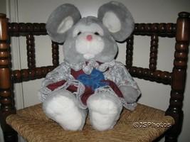 Girl Rabbit Dressed Plush By Commonwealth UK 1991 Rare - $34.41