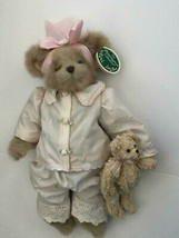 "Bearington Bears ""Pj & Patches"" 14"" Collector Bear- Sku#143133- New- 2007 - $49.99"