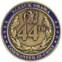 """44TH PRESIDENT BARACK OBAMA WE ARE THE CHANGE WE SEEK 1.75"""" CHALLENGE COIN image 2"""