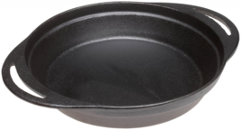 Pie Pan - Pre-Seasoned Cast Iron 12 x 9.5 x 2 Inches By Old Mountain - $43.99