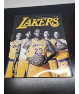 2018-19 NBA Los Angeles Lakers Yearbook - $15.58