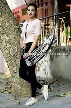 Hippie Zip Case Indian Boho Throw Yoga Mat Carrying Bag Mandala Strap Co... - $281,66 MXN