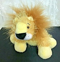 "GANZ Plush Lion Webkinz HM006  No Code Plush Only 12"" Nose to Tail - $8.69"