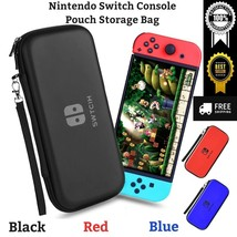 Nintendo Switch Genuine Carry Case Pouch Travel Carrying Storage Finest ... - $12.99