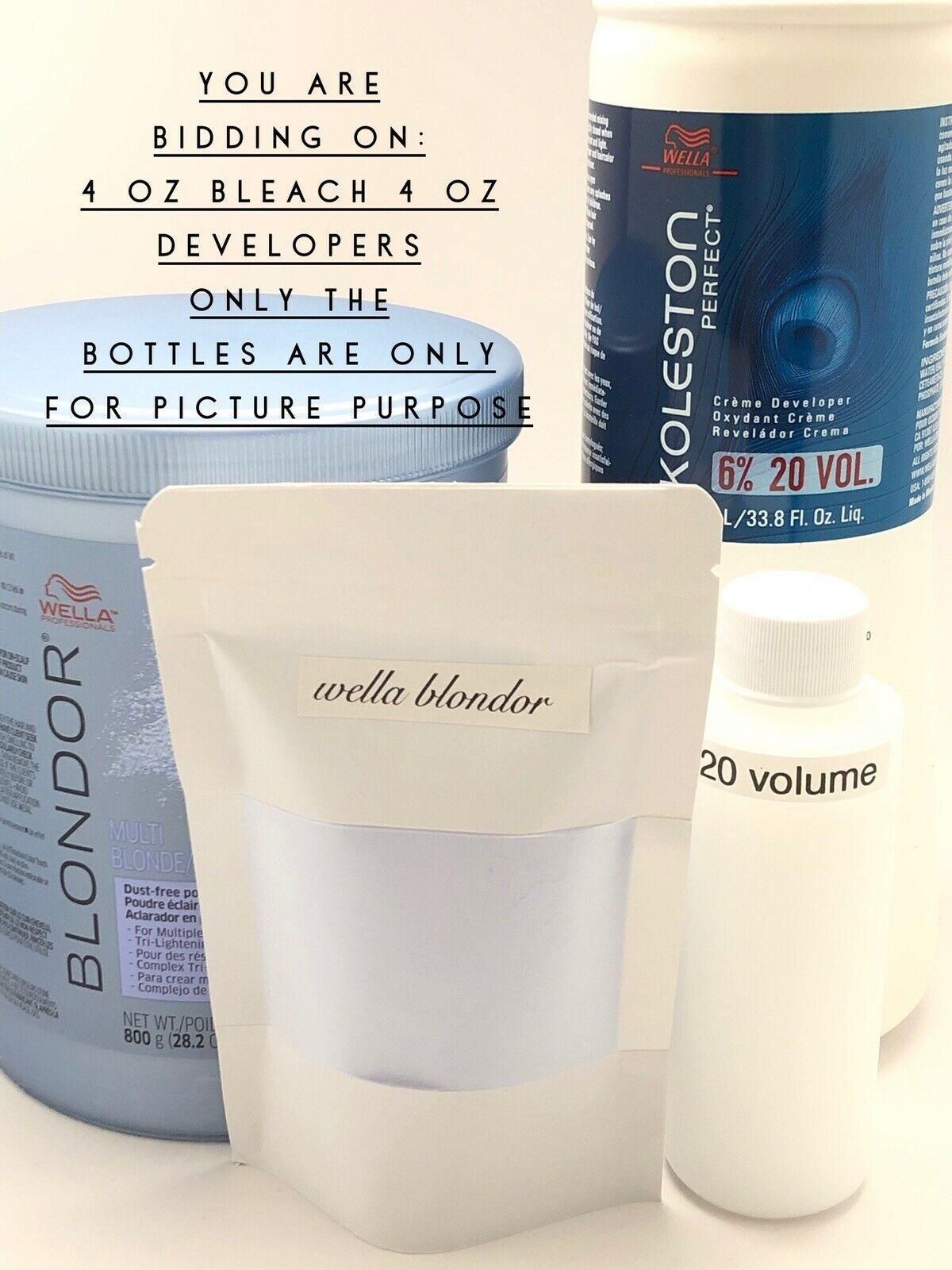 4 oz Wella Blondor Powder lightener Hair dye kit, root touch up. WEllaplex kit - $19.50
