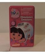 DORA THE EXPLORER 28 Piece DOMINO SET Girls TOY KIDS GIFT GAME - $5.94