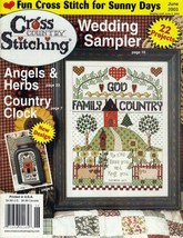 Cross Country Stitching Magazine June 2003 Wedding / Anniversary Sampler - $12.50