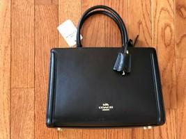 NEW w/ Tags - COACH SMALL ZOE CARRYALL HANDBAG - BLACK - F72667 - $216.58 CAD