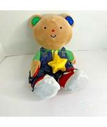 Melissa & Doug Ks Kids Dress Me Bear Plush Stuffed Animal Toy 14.5 in zi... - $9.45