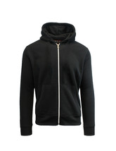 Case of [24] Boys Heavyweight Fleece Hoodie - Black - $1,428.00