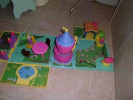 Little Tikes Rapunzel Lovely Locks Playset Figures, furniture,tower,cott... - $11.77
